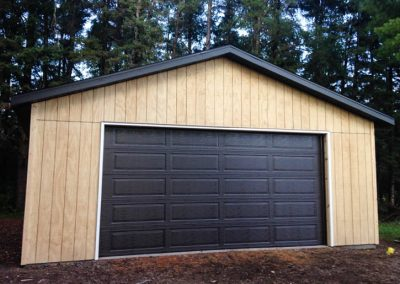 Upgrades Shown 8′ Garage Door Aluminum Soffit and Fascia